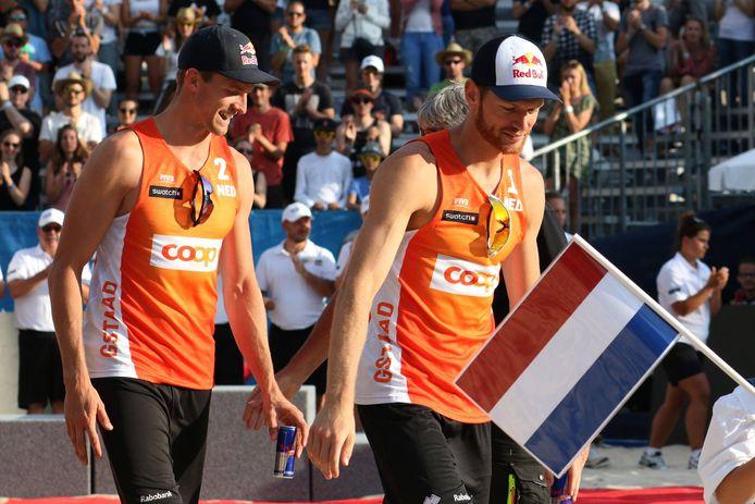 Alexander Brouwer (links) en Robert Meeuwsen.