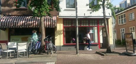 Zendmast op terras pizzarestaurant Culemborg weer verdwenen