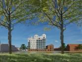 Complimenten voor ontwerp Wolstad, nieuwste loot Piushaven: 'Heel stoer gebouw'