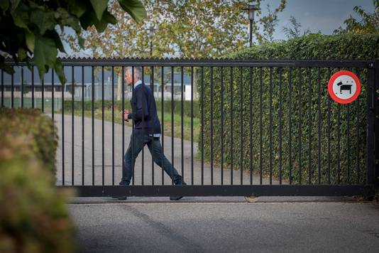Archieffoto van de poort van Achilles'29 in Groesbeek.