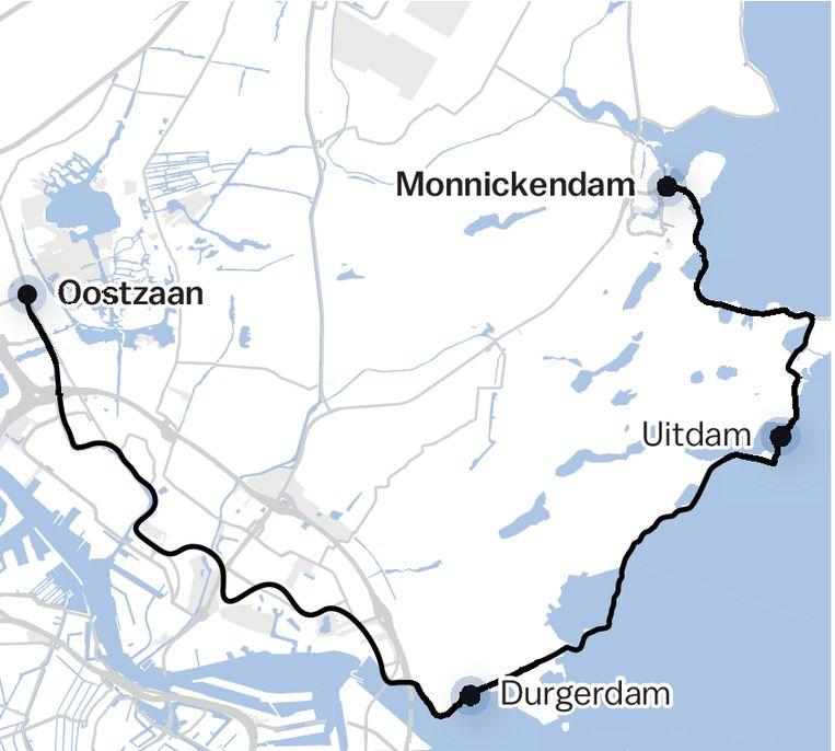 De Waterlandse Zeedijk. Beeld Eva Janssen