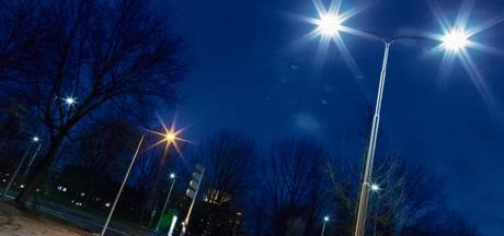 Straatverlichting in Ootmarsum brandt weer