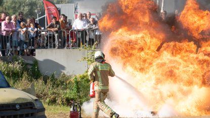 Grote belangstelling voor indrukwekkende demo's op open weekend brandweer Zottegem