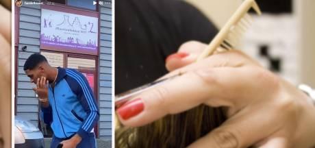 Politie slingert illegale kapperszaak op de bon na Instagram-post Famke Louise