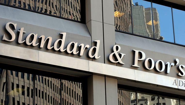 Het hoofdkantoor van Standard & Poor's in New York. Beeld EPA