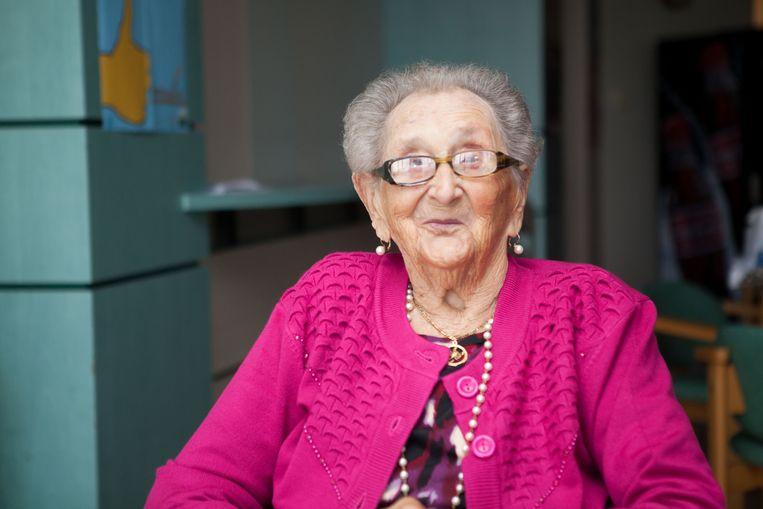 Brugge -- 105 jaar voor Elodia Mc Allister
