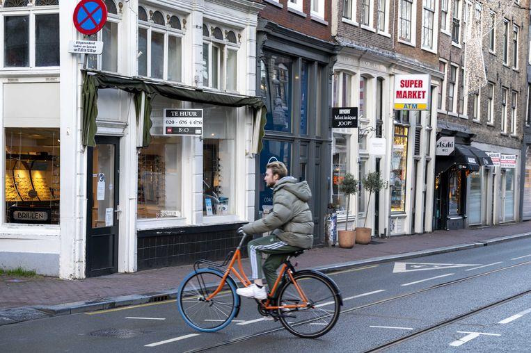 In de Utrechtsestraat was leegstand lang ondenkbaar, maar verhuren van winkelruimte is ook hier een opgave geworden.  Beeld ANP
