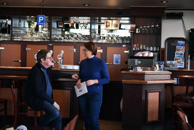 Uitbaters Marc (63) en Marina (60) van café De Lantaarn
