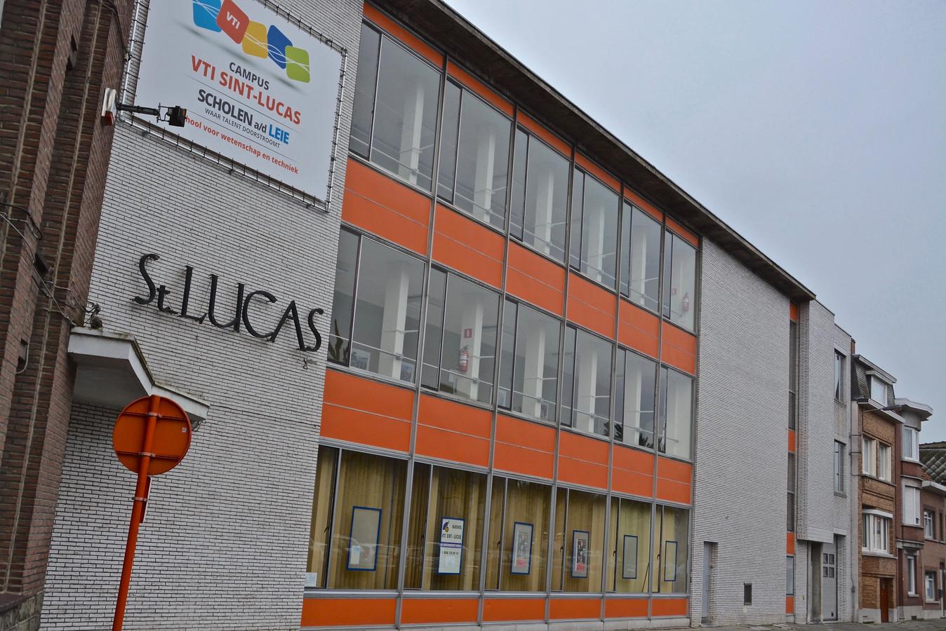 Het VTI Sint-Lucas in Menen.
