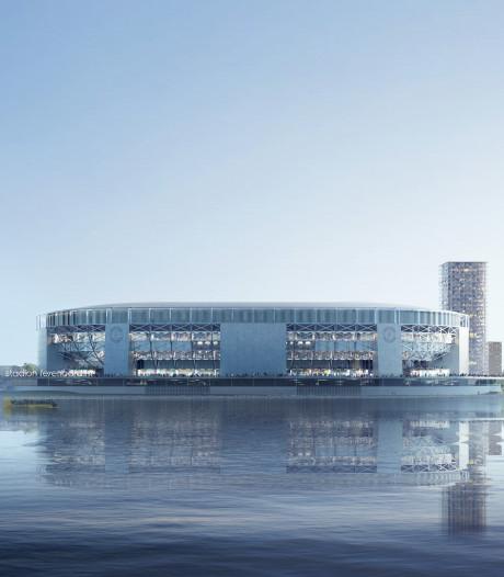 Deel bouwterrein voor toekomstig stadion Feyenoord aangekocht