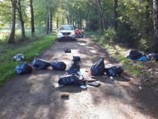 Flinke toename dumpingen in natuur rond Goirle, Hilvarenbeek en Riel: politie gaat vaker surveilleren