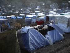 Stampvol vluchtelingenkamp Lesbos kansloos bij besmetting coronavirus