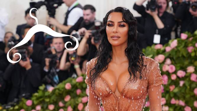 Kim Kardashian is wat kleding betreft graag kort van stof