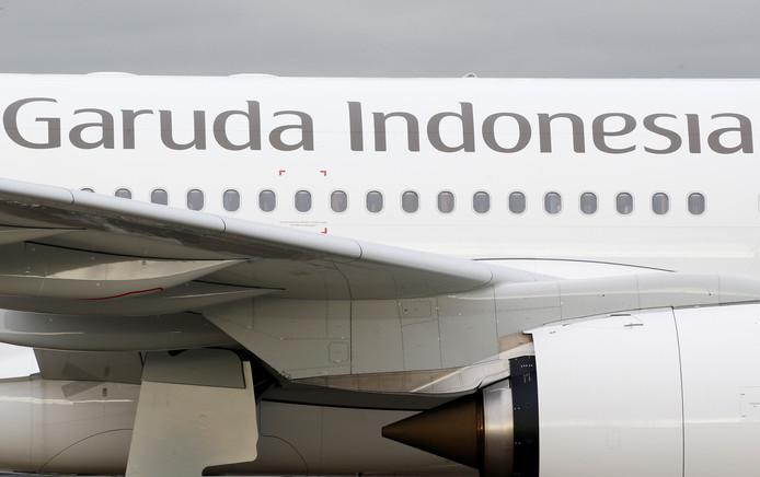 Een Airbus A330 van Garuda Indonesia.