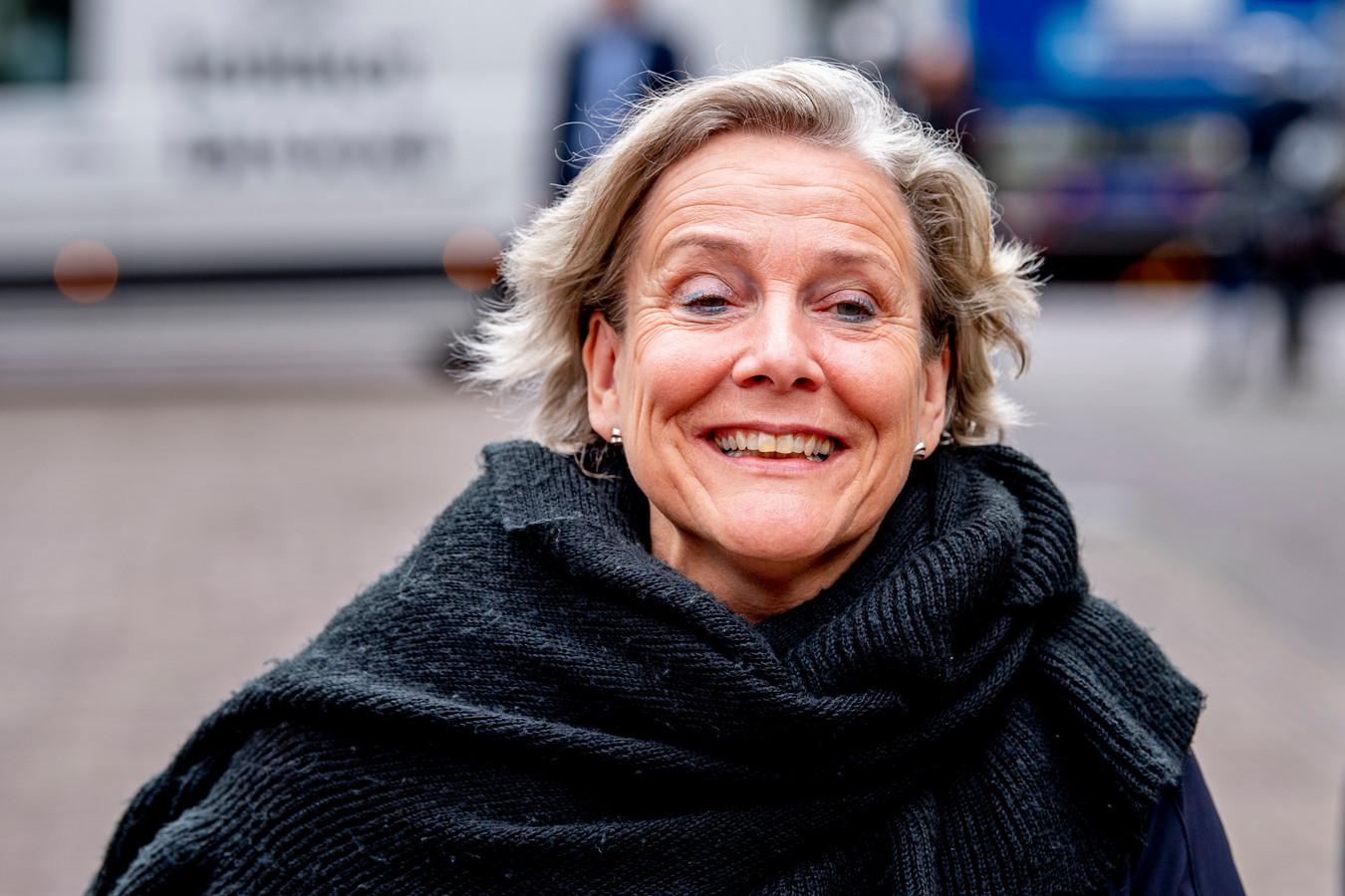 Demissionair minister Ank Bijleveld