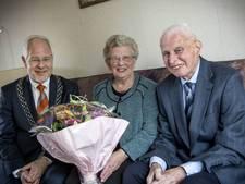 Oldenzaalse echtpaar Berning 60 jaar getrouwd