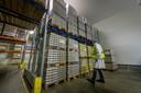 Met de nieuwe koelhal heeft De Zuivelhoeve straks voldoende ruimte om de producten te stallen.
