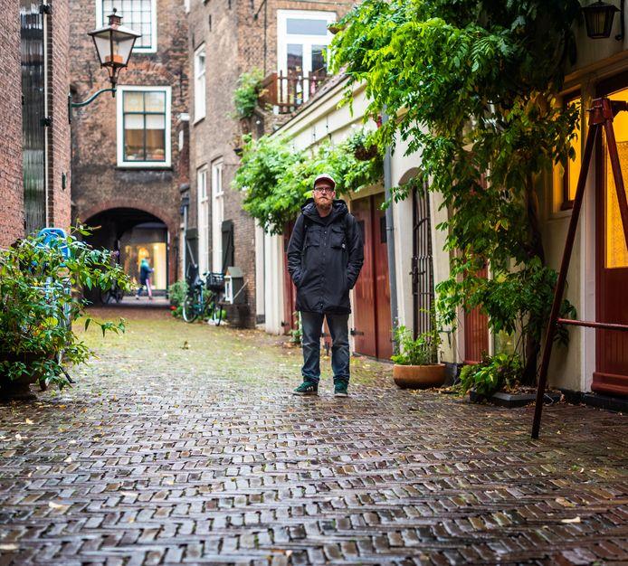 Maarten Roggeveen woonde zestien jaar in Dordrecht, hij werkt er nog steeds.