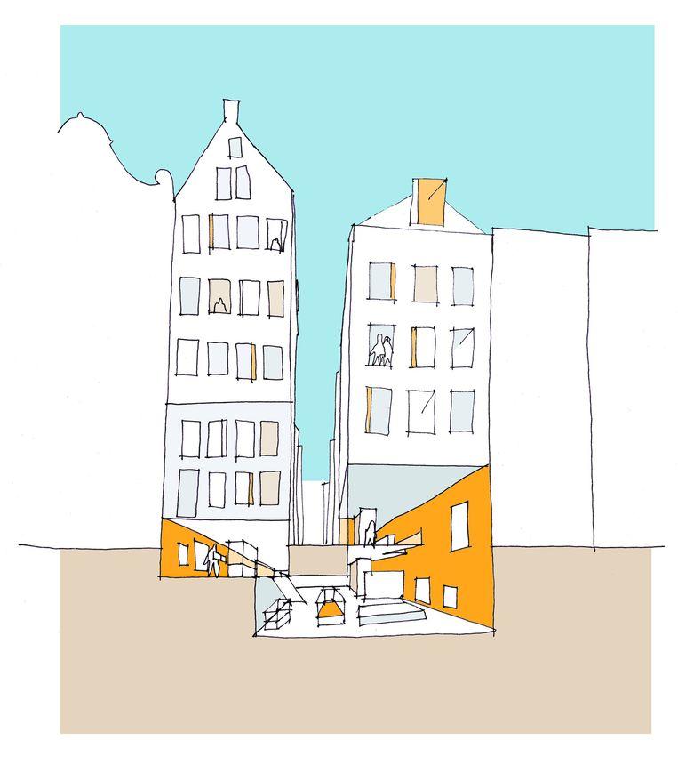 Impressie van de uitbreiding Beeld Sabine Heijne