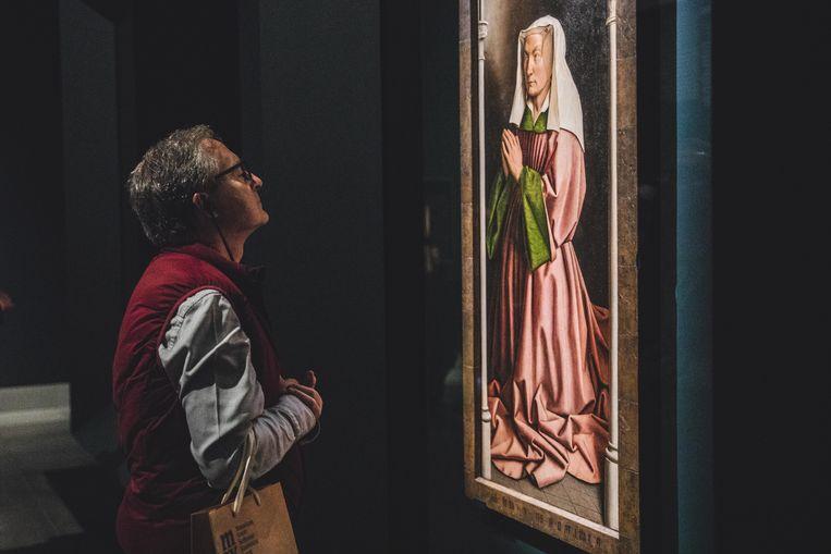 Expo 'Van Eyck. An optical revolution.' Beeld Wannes Nimmegeers