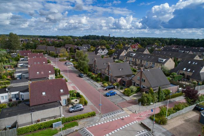 In de Baronielaan in Emmeloord wonen een aantal mensen in een project voor begeleid wonen.