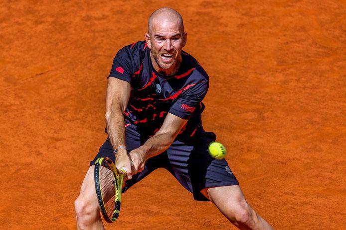 Adrian Mannarino, 34e mondial, n'a rien pu faire contre la nouvelle pépite du tennis espagnol.