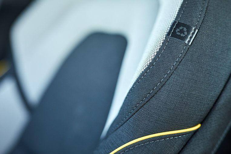 Volvo streeft ernaar om in 2025 in al zijn nieuwe auto's 25 procent gerecycled plastic toe te passen. Beeld Volvo Cars