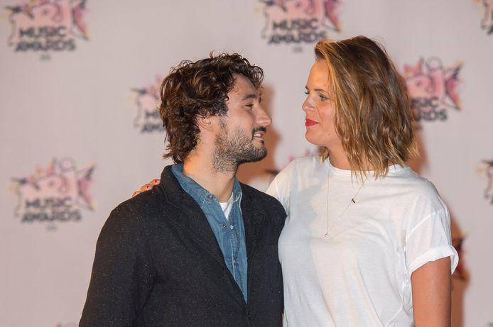 Jérémy Frérot et Laure Manaudou.