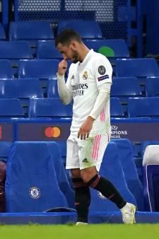 """Des journalistes espagnols appellent au départ d'Eden Hazard: """"Un joueur sans fond, sans forme"""""""