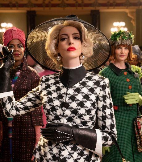 Anne Hathaway zet haar tanden in opperheks: 'Ik wilde zo arrogant mogelijk die hotellobby betreden'