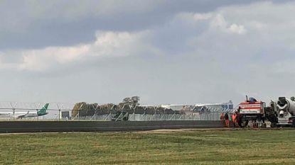 Betonnen muur van bijna meter hoog moet luchthaven beter beveiligen