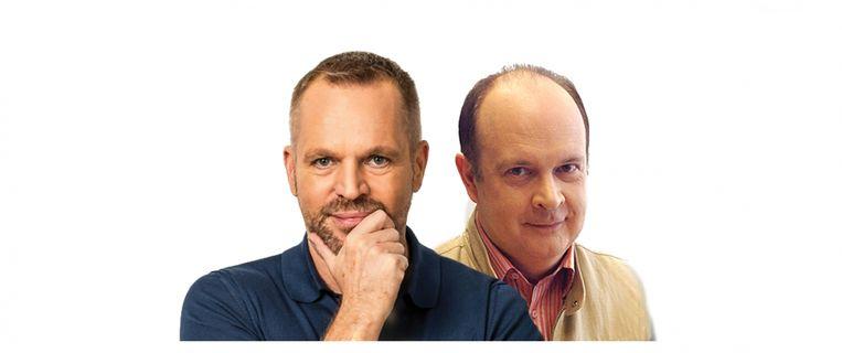 Lieven Vandenhaute en André Vermeulen. Beeld RV
