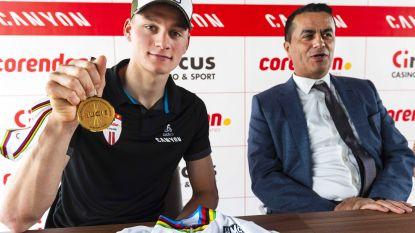 Liever fietsen dan genieten: dag na langverwachte wereldtitel wil Van der Poel maar één ding