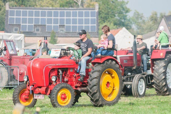 Dit jaar zullen meer dan 400 oude tractoren deelnemen aan het oldtimerevent.