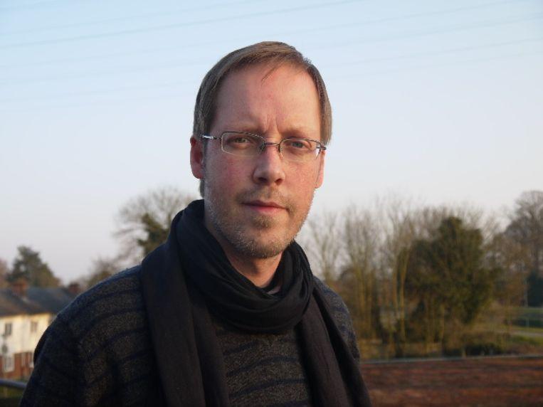 Terreurexpert Pieter Van Ostaeyen. Beeld rv