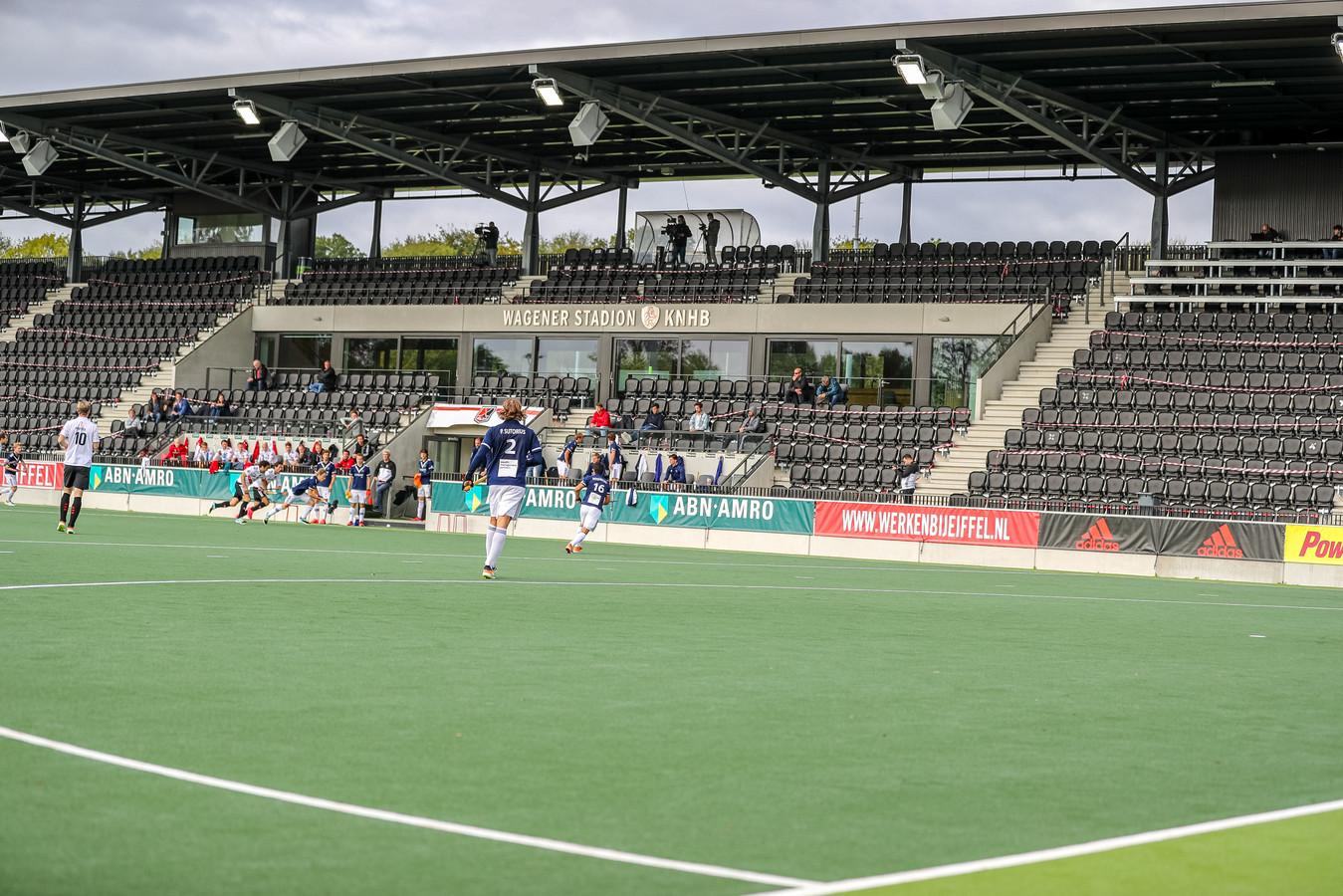 In het Wagener Stadion zijn tijdens de interlands geen supporters welkom.