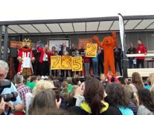 Eerste Scoor een boek! Tilburg: kinderen lezen 7.352 boeken. Mét een handtekening van Lewis en Rienstra