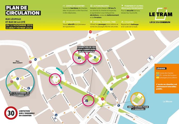 Plan de mobilité à partir du 12 novembre.