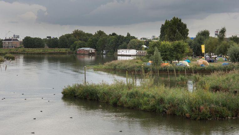 Inzet van strijd: het mooie stukje Zeeburg aan het Nieuwe Diep Beeld Mats van Soolingen