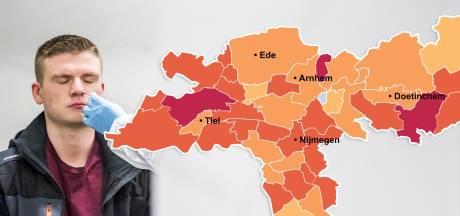 CORONAKAART | Besmettingen lopen op in Arnhem, net als landelijk weekgemiddelde