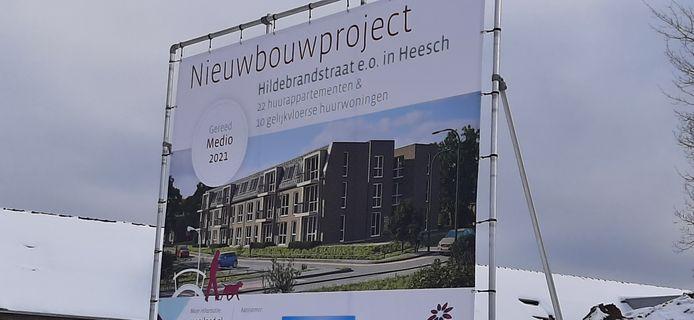 Bij een project van Mooiland aan de Hildebrandstraat in Heesch.