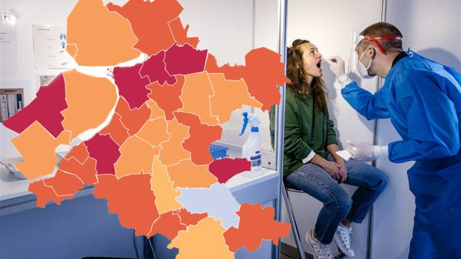 KAART | Piek in aantal nieuwe coronabesmettingen in Oost-Nederland