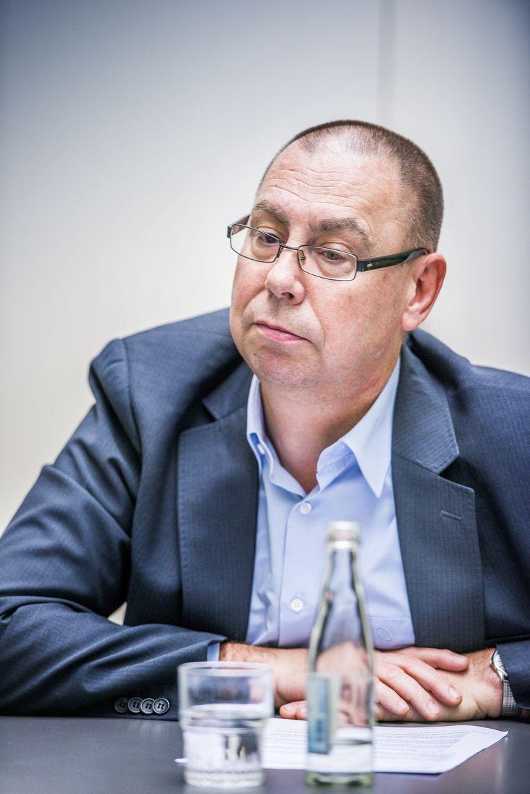 ACV-voorzitter Marc Leemans. Beeld Stefaan Temmerman