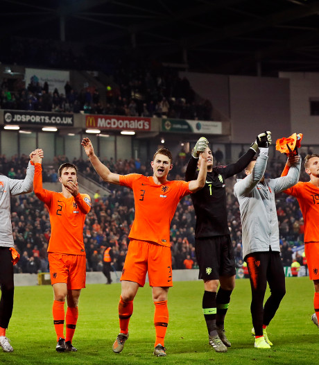 Oranje op EK zeer waarschijnlijk in groep met Oekraïne