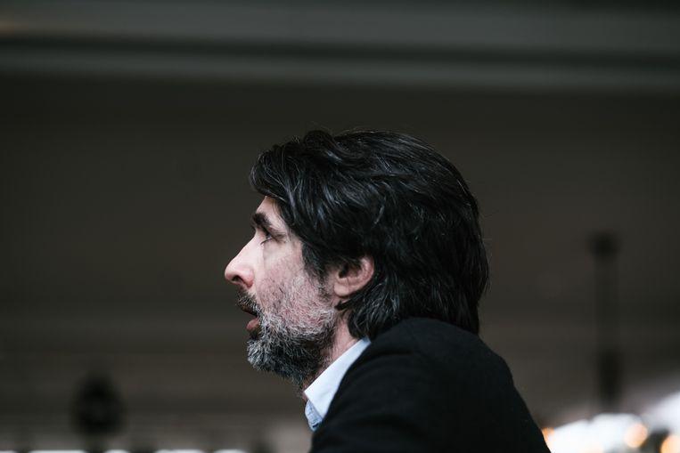 Onder anderen Mauro Pawlowski is te zien in het Vlaams Cultuurhuis De Brakke Grond in Amsterdam.  Beeld Wouter Van Vooren