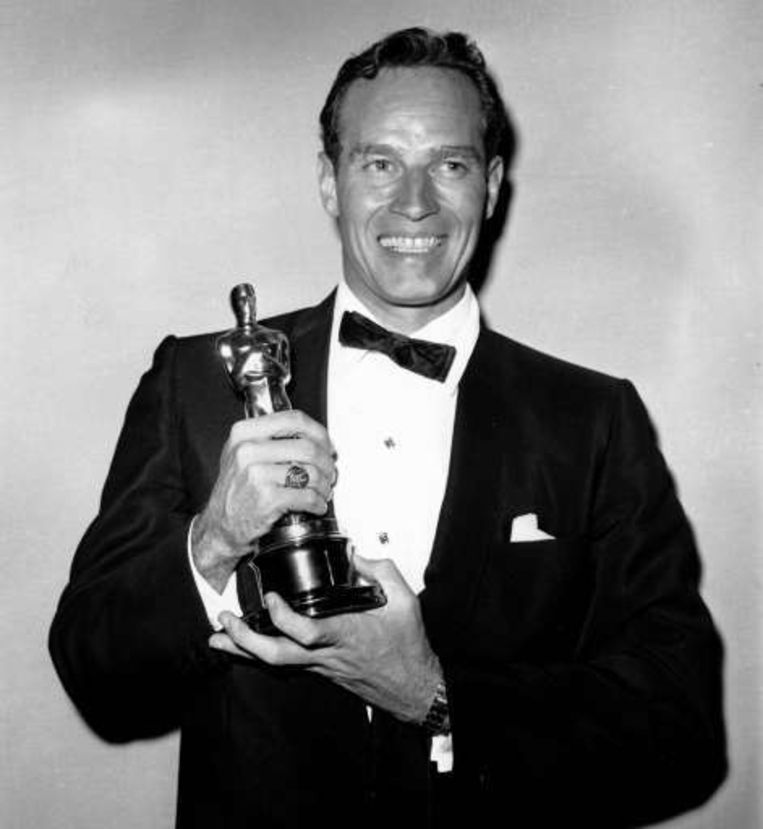 Voor zijn titelrol in 'Ben Hur' won hij in 1959 een Oscar voor beste acteur. Beeld UNKNOWN