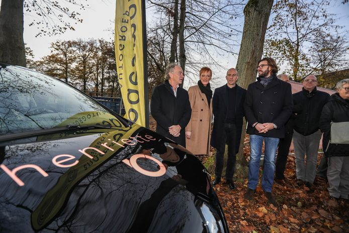 De Renault ZOE.