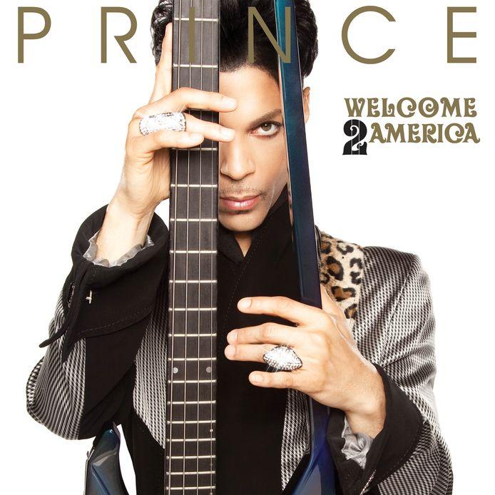 De hoes van het nieuwe album van Prince: Welcome 2 America
