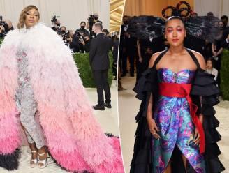 Geslaagd of overdreven? Serena Williams en Naomi Osaka pronken in extravagante outfits op Met Gala
