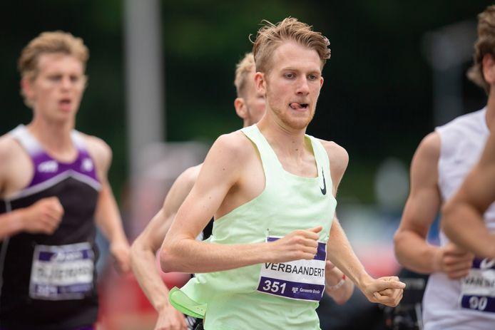 Tim Verbaandert werd op de NK atletiek in Breda vijfde op de 1500 meter. De Veldhovenaar dook er voor het eerst onder de 3.40 minuten.